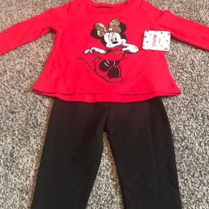NWT Minnie Mouse outfit